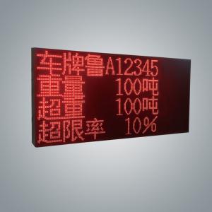 GW6030(C)型治超专用显示屏